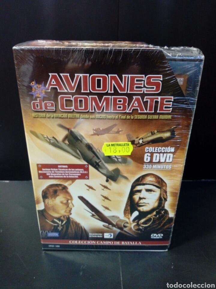 AVIONES DE COMBATE DVD DOCUMENTAL (Cine - Películas - DVD)