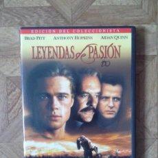 Cine: LEYENDAS DE PASIÓN - CON BRAD PITT ANTHONY HOPKINS AIDAN QUINN. Lote 155200382