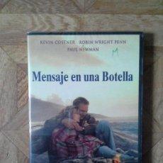 Cine: MENSAJE EN UNA BOTELLA - CON KEVIN COSTNER PAUL NEWMAN - PRECINTADO. Lote 155201810