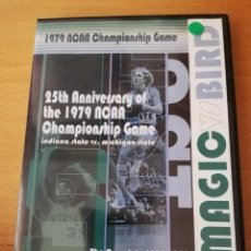 Cine: 25TH ANNIVERSARY OF THE 1979 NCAA. CHAMPIONSHIP GAME. THE MAGIC JOHNSON - LARRY BIRD SHOW IS BORN. Lote 155262322