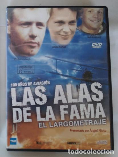 100 AÑOS DE AVIACION, LAS ALAS DE LA FAMA, EL LARGOMETRAJE, ANGEL NIETO, DVD (Cine - Películas - DVD)