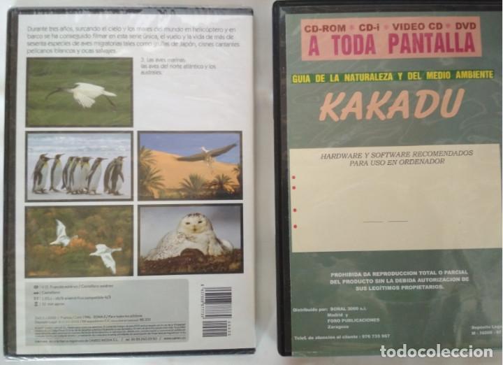 Cine: LOTE DE 2 DOCUMENTALES EN DVD, LAS ALAS DE LA NATURALEZA Y RESERVAS SALVAJES KAKADU - Foto 2 - 155319786