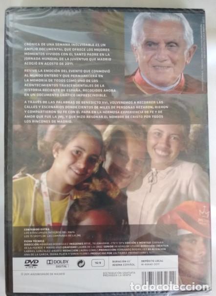 Cine: CRONICA DE UNA SEMANA INOLVIDABLE, JMJ 2011 MADRID, DVD - Foto 2 - 155320190