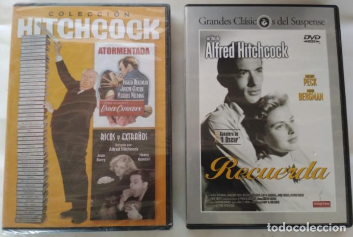 ALFRED HITCHCOCK, RECUERDA, ATORMENTADA, RICOS Y EXTRAÑOS, 3 PELICULAS CLASICAS EN DVD (Cine - Películas - DVD)
