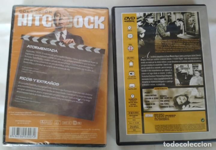 Cine: ALFRED HITCHCOCK, RECUERDA, ATORMENTADA, RICOS Y EXTRAÑOS, 3 PELICULAS CLASICAS EN DVD - Foto 2 - 155321338