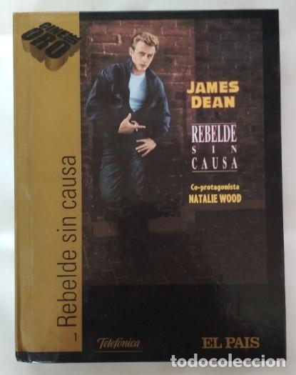 REBELDE SIN CAUSA, JAMES DEAN, EL PAIS, PELICULA EN DVD + LIBRO (Cine - Películas - DVD)