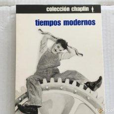 Cine: DVD-TIEMPOS MODERNOS-SOLO PORTADA SIN DISCO. Lote 155371778