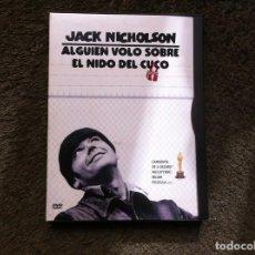 Cine: JACK NICHOLSON. ALGUIEN VOLÓ SOBRE EL NIDO DEL CUCO (DVD). Lote 155388630