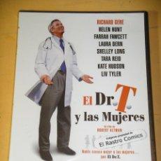 Cine: EL DR T Y LAS MUJERES, PRECINTADO, RICHARD GERE, HELEN HUNT FARRAH FAWCETT KATE HUDSON DVD D3. Lote 155390490