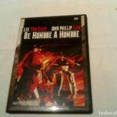 Cine: PELICULA DEL OESTE DE HOMBRE A HOMBRE EN DVD. Lote 155416098