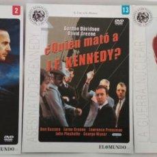 Cine: LOTE DE 3 PELICULAS EN DVD EL CINE DE EL MUNDO GRANDES ACONTECIMIENTOS DEL SIGLO XX, Nº 2, 10 Y 13. Lote 155427110