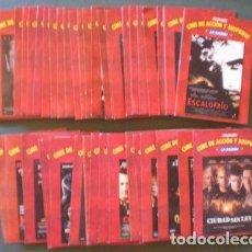 Cine: 50 DVD CINE DE ACCIÓN Y SUSPENSE. Lote 155452890