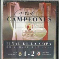Cine: CAMPEONES - FINAL DE LA COPA DEL REY 2013 - REAL MADRID -1- ATLETICO DE MADRID -2-. Lote 155471026