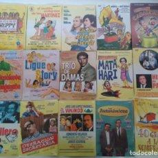 Cine: LOTE DE 15 PELICULAS ESPAÑOLAS EN DVD PRECINTADAS. Lote 155522330