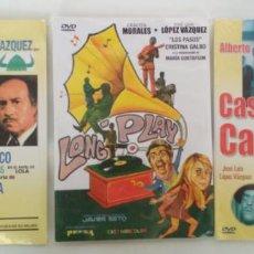 Cine: LOTE DE 3 PELICULAS ESPAÑOLAS EN DVD PRECINTADAS. Lote 155523174
