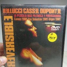 Cine: IRREVERSIBLE DVD DESCATALOGADO. Lote 155535397