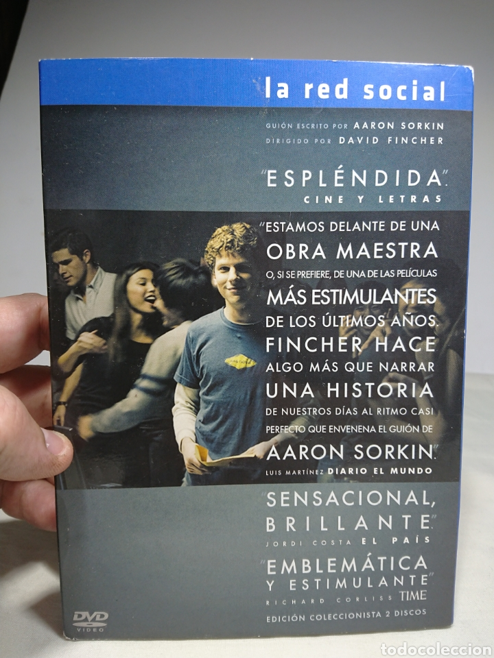 LA RED SOCIAL, DVD EDICION COLECCIONISTA 2 DISCOS (Cine - Películas - DVD)