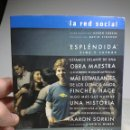 Cine: LA RED SOCIAL, DVD EDICION COLECCIONISTA 2 DISCOS. Lote 155536610