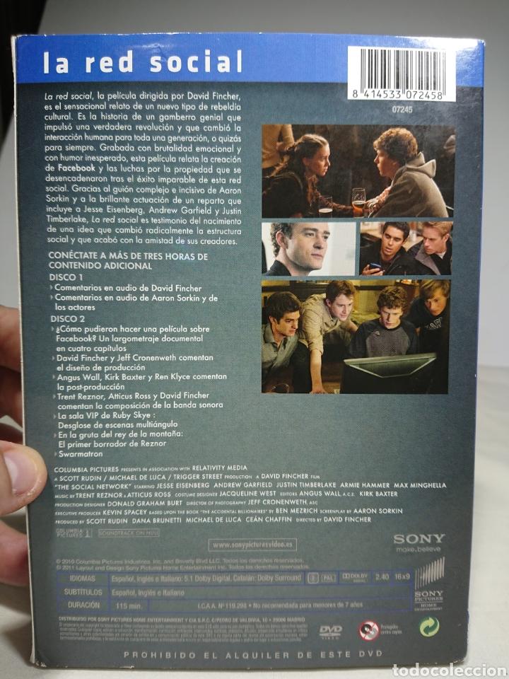 Cine: La Red Social, DVD Edicion Coleccionista 2 Discos - Foto 2 - 155536610