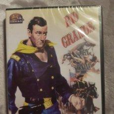 Cine: RÍO GRANDE DVD. Lote 155532194