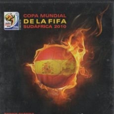 Cine: COPA MUNDIAL DE LA FIFA SUDÁFRICA 2010. ESPAÑA VS SUIZA. PRIMER PARTIDO. DVD-5303. Lote 155663022