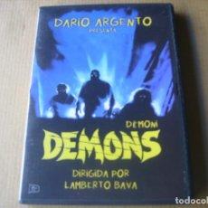 Cine: DEMONS / DARIO ARGENTO DVD. Lote 155674930