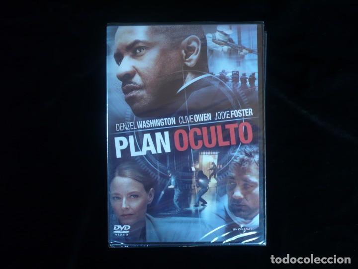 PLAN OCULTO DENZEL WASHINGTON - DVD NUEVO PRECINTADO (Cine - Películas - DVD)