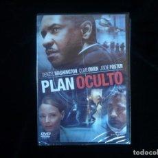 Cine: PLAN OCULTO DENZEL WASHINGTON - DVD NUEVO PRECINTADO. Lote 174221130