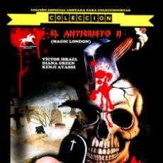Cine: EL ANTICRISTO II MAGIC LONDON 2 DVDS EDICIÓN ESPECIAL LIMITADA COLECCIONISTAS 132 MINUTOS DE EXTRAS. Lote 194875762