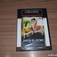 Cine: DAVID EL DURO DVD CINE MUDO NUEVA PRECINTADA. Lote 288867943