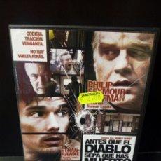 Cine: ANTES DE QUE EL DIABLO SEPA QUE HAS MUERTO DVD. Lote 155982612