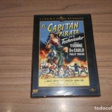 Cine: EL CAPITAN PIRATA DVD YVONNE DE CARLO NUEVA PRECINTADA. Lote 156100886