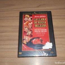 Cine: LA LLAMA DE NUEVA ORLEANS DVD MARLENE DIETRICH NUEVA PRECINTADA. Lote 156064254