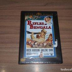 Cine: RIFLES DE BENGALA DVD ROCK HUDSON NUEVA PRECINTADA. Lote 156065466
