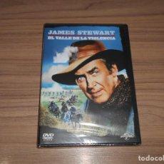 Cine: EL VALLE DE LA VIOLENCIA DVD JAMES STEWART NUEVA PRECINTADA. Lote 156100454