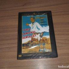 Cine: TRES LANCEROS BENGALIES DVD GARY COOPER NUEVA PRECINTADA. Lote 156069430