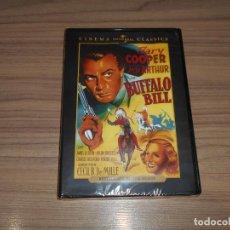 Cine: BUFFALO BILL DVD DE CECIL B. DE MILLE GARY COOPER NUEVA PRECINTADA. Lote 156100349