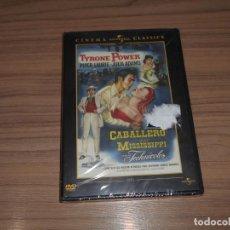 Cine: CABALLERO DEL MISSISSIPPI DVD JULIA ADAMS TYRONE POWER NUEVA PRECINTADA. Lote 156099941