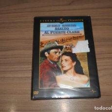 Cine: ASALTO AL FUERTE CLARK DVD MAUREEN O'HARA JEFF CHANDLER NUEVA PRECINTADA. Lote 191416413