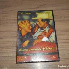 Cine: POLICIA MONTADA DEL CANADA DVD GARY COOPER NUEVA PRECINTADA. Lote 156078578