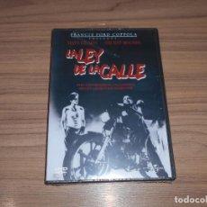 Cine: LA LEY DE LA CALLE DVD DE FRANCIS FORD COPPOLA MATT DILLON MICKEY ROURKE NUEVA PRECINTADA. Lote 156080194