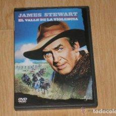 Cine: EL VALLE DE LA VIOLENCIA DVD JAMES STEWART. Lote 156087858