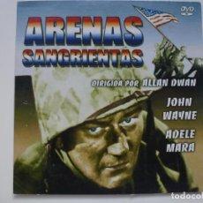 Cine: ARENAS SANGRIENTAS. DVD. CARÁTULA DE CARTÓN. . Lote 156145862
