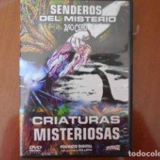 Cine: DVD-SENDEROS DEL MISTERIO AÑO CERO. Lote 156146102