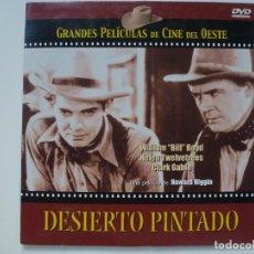 Cine: DESIERTO PINTADO. COLECCIÓN GRANDES PELÍCULAS DE CINE DEL OESTE. DVD. CARÁTULA DE CARTÓN. . Lote 156146482