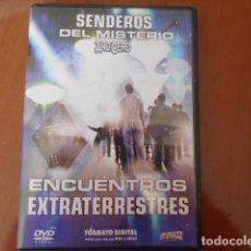 Cine: DVD-SENDEROS DEL MISTERIO AÑO CERO ENCUENTROS EXTRATERRESTRES. Lote 156146878