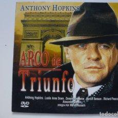 Cine: ARCO DE TRIUNFO. DVD. CARÁTULA DE CARTÓN. . Lote 156147006