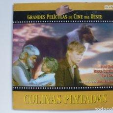 Cine: COLINAS PINTADAS. COLECCIÓN GRANDES PELÍCULAS DE CINE DEL OESTE. DVD. CARÁTULA DE CARTÓN.. Lote 156148386