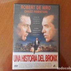 Cine: DVD-UNA HISTORIA DEL BRONX. Lote 156148794