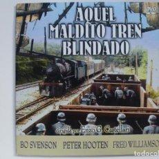 Cine: AQUEL MALDITO TREN BLINDADO. DVD. CARÁTULA DE CARTÓN.. Lote 156149318